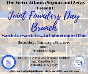 Joint Founders' Day Brunch @ St. Philip AME Conference Center